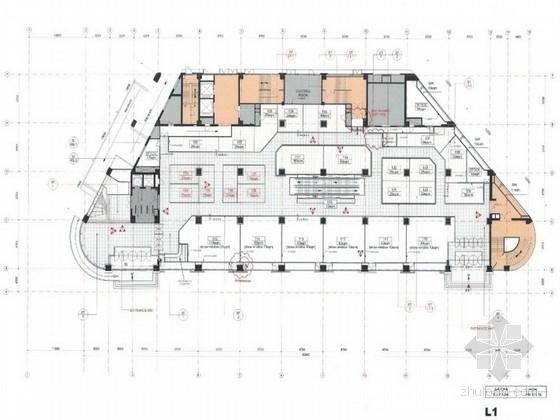 [辽宁]中日合资时尚商厦装修室内装修设计方案