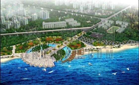 滨海生态公园的景观设计