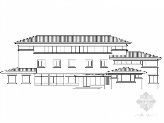 某乡镇门诊楼建筑设计施工图