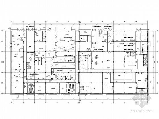 [湖北]生产厂房通风及防排烟系统设计施工图(含洁净空调、工艺通风)