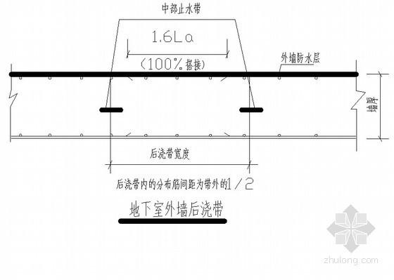 [广州]商住楼后浇带工程施工方案