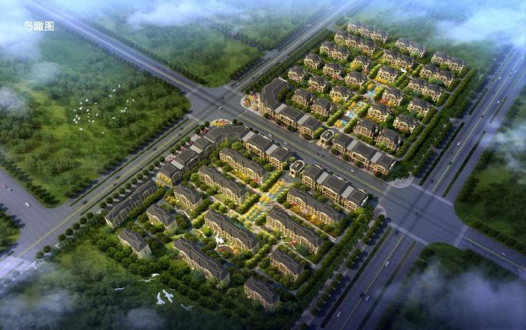 """[山西]法式风格""""三段式""""构图多层住宅建筑设计方案文本"""