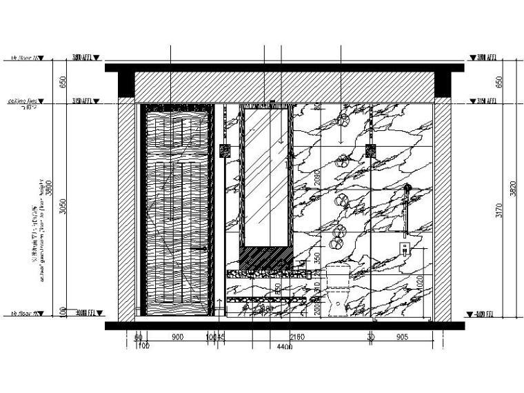 [海口]复古奢华低层别墅样板间室内设计施工图(含软装方案)_5