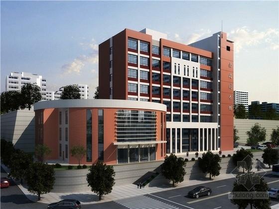 [广东]高层现代风格图书馆建筑设计方案文本(知名设计院)