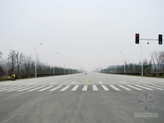 [广东]城市次干路道路及市政设施工程建设施工组织设计(桥梁 排水 绿化 交通)