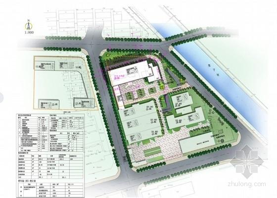 医院规划总平面图