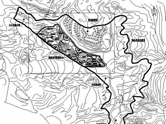 [杭州]某温泉度假村景观规划总平面设计