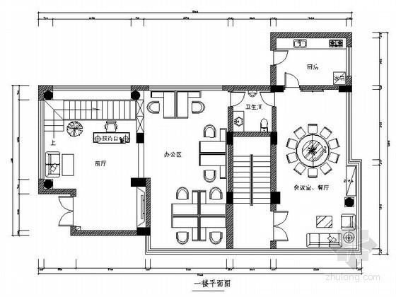 [昆明]三层极致办公空间装修图(含效果)