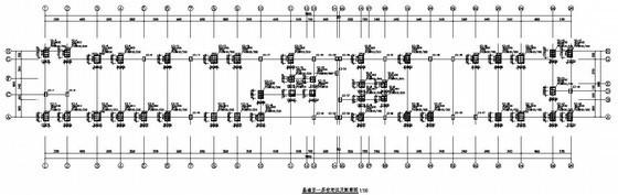 医疗便民服务大厅框架结构设计图