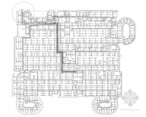 [重庆]某妇幼保健院给排水施工图纸(门诊楼、住院楼、行政楼、水处理)