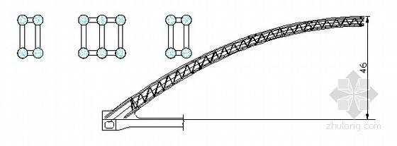 [河南]高速公路工程特大桥拱肋混凝土泵送顶升施工方案