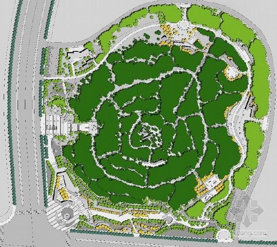 [济南]山体公园景观设计方案