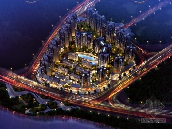 [四川]一梯六户高层高品质住区规划设计方案文本(两种方案 含多媒体 知名建筑设计院)