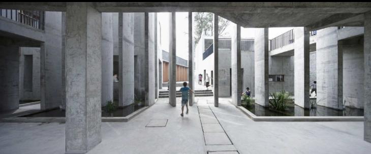 四川孝泉镇民族小学室内设计实景图