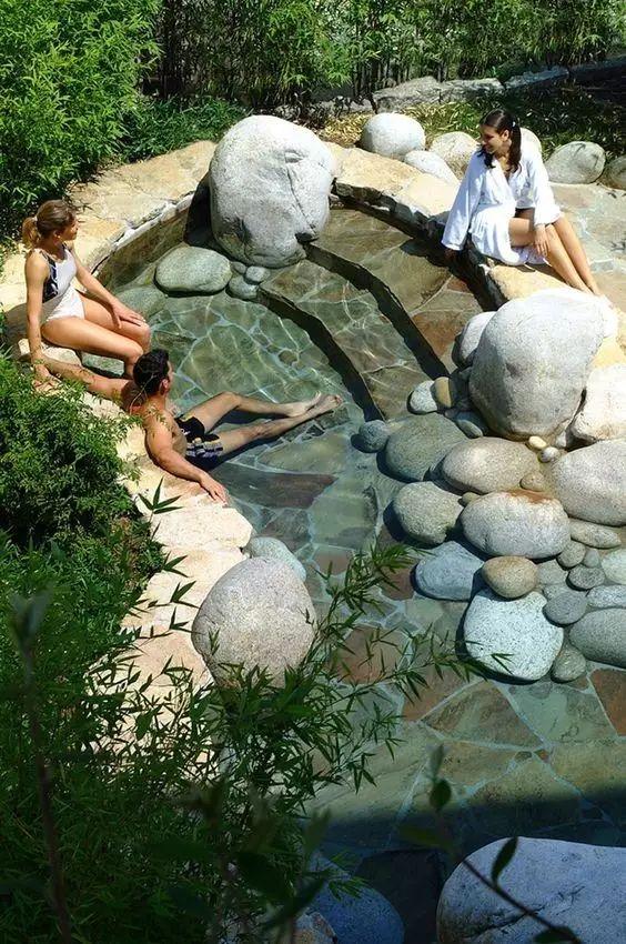 你这样做,有想过石头的感受吗?(自然水池的做法详解)_6