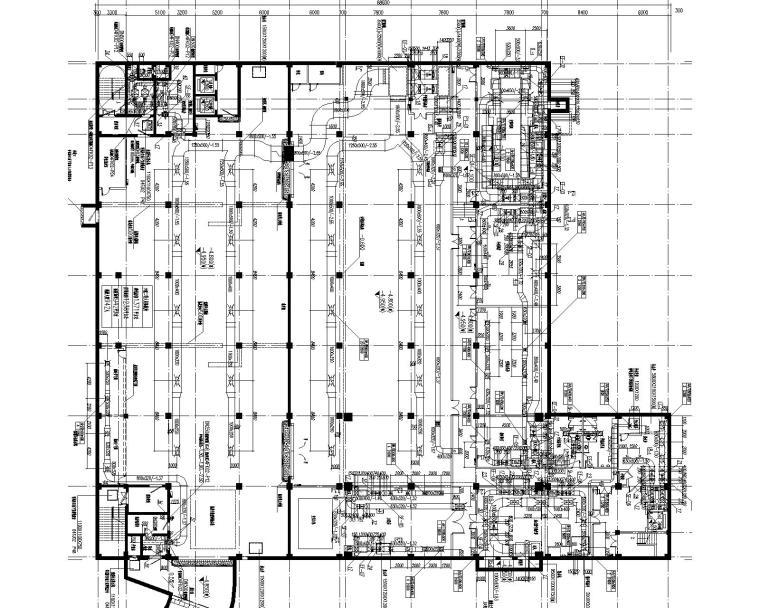 [上海]业务处理三号楼及后勤服务中心暖通施工图(含通风空调及防排烟图纸等)_2
