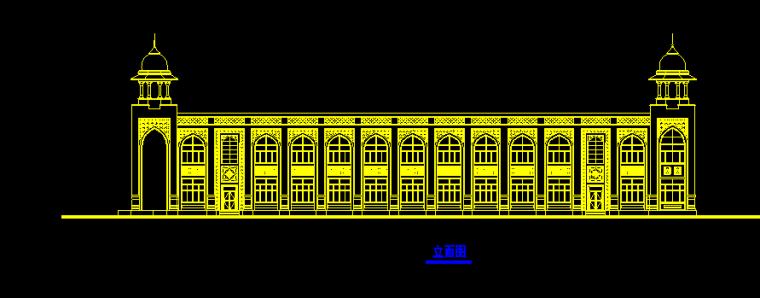 上海外国语大学归档建筑施工图(华东院图纸)
