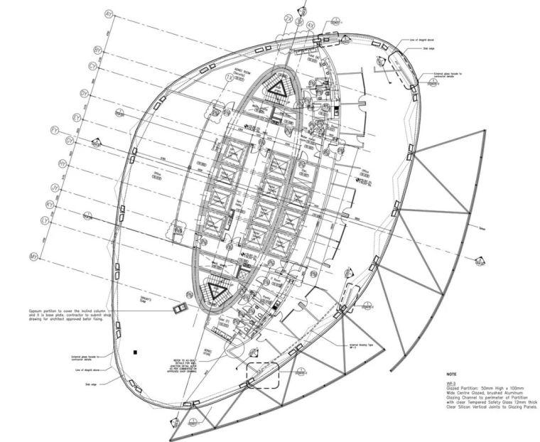 首都门厅――世界上倾斜度最大的塔楼_20