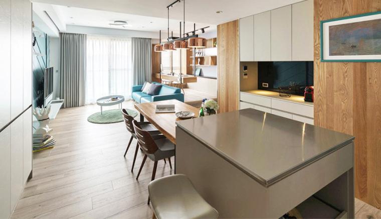 新竹现代风亲子公寓-4