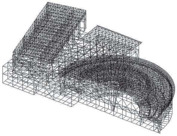 直径44m的半圆形和伞构造支撑起多雪地区的屋顶_14