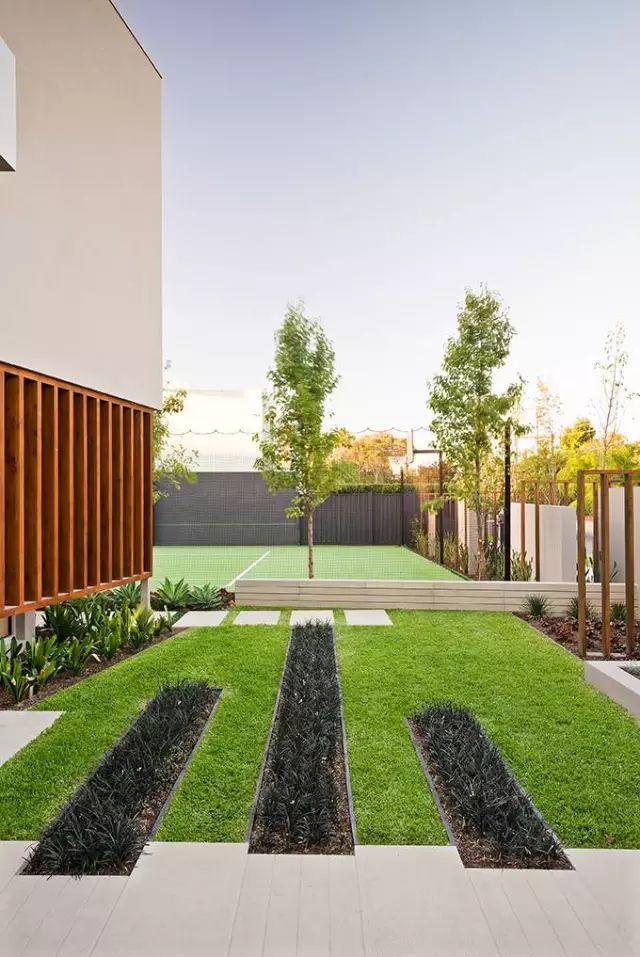 赶紧收藏!21个最美现代风格庭院设计案例_173