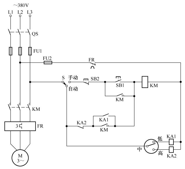 [电气分享]电气自动控制电路图实例精选,快收藏!_19
