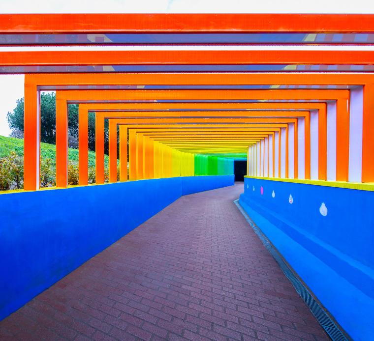 上海金地格林世界社区彩虹通道-001-rainbow-channel-in-jindi-green-world-community-china-by-antao-aha-group