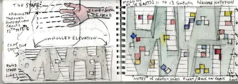 斯蒂文·霍尔在中国的首个作品展,向我们摊开了他个人的手绘本_44