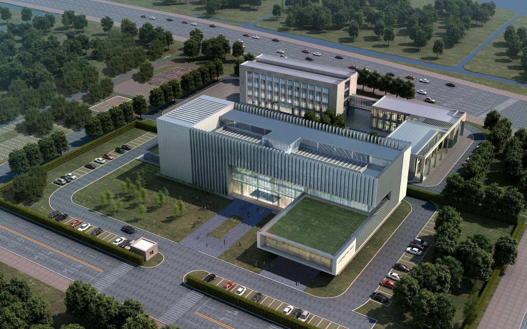 [分享]中式办公楼建筑设计方案资料免费下载图片