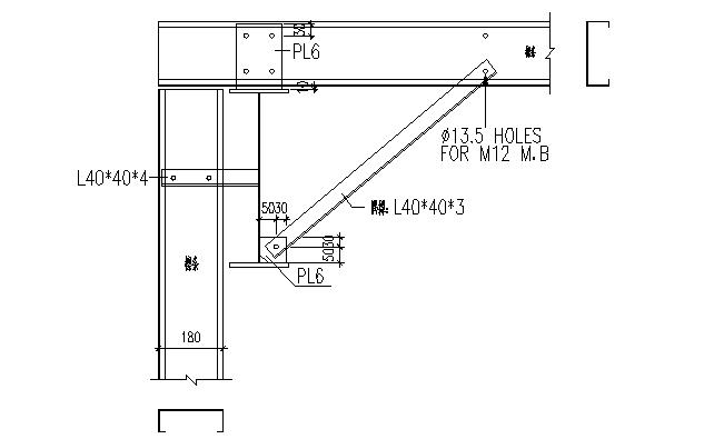 中阳石业门式刚架钢结构厂房(CAD,16张)_5