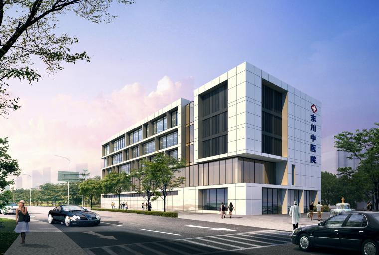 [云南]昆明中医院建筑设计方案文本(CAD+JPG)