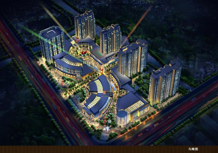 [浙江]住宅、商业、办公综合体锦绣时代广场扩初文本(含CAD)
