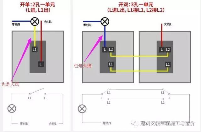 双控开关的接线图_3