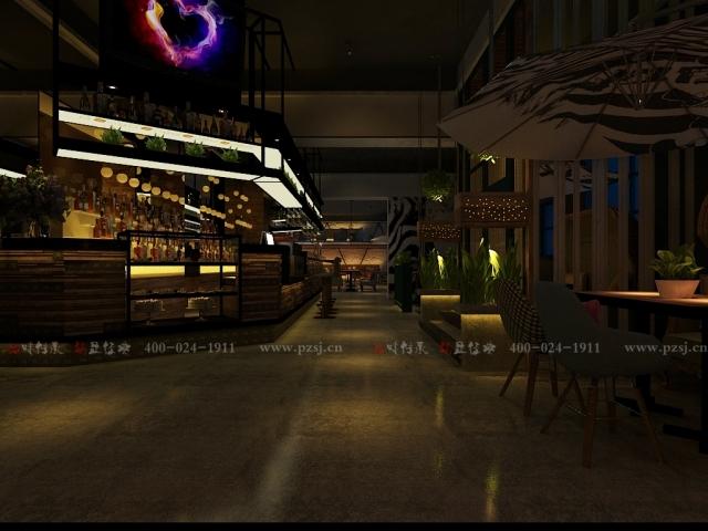 沈阳市中山路热情的斑马艺术休闲吧项目设计效果图震撼来袭-1.jpg