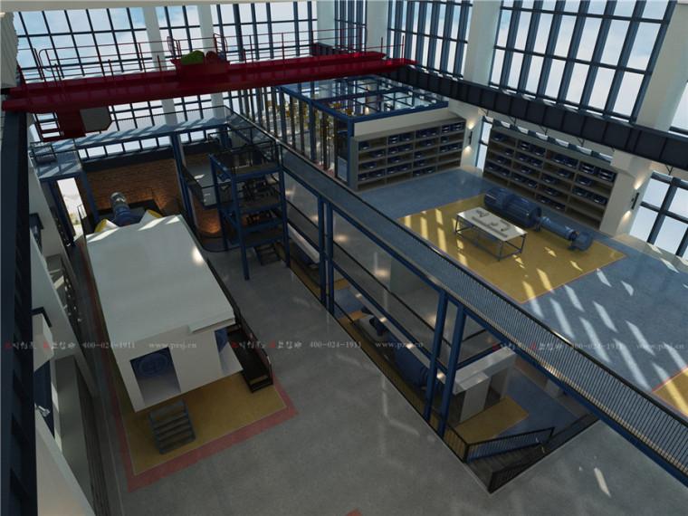 [办公室设计]江苏分公司科研培训实验基地设计-3.jpg