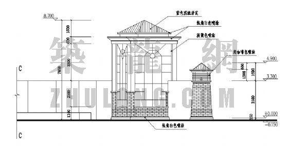 园林大门设计方案-2