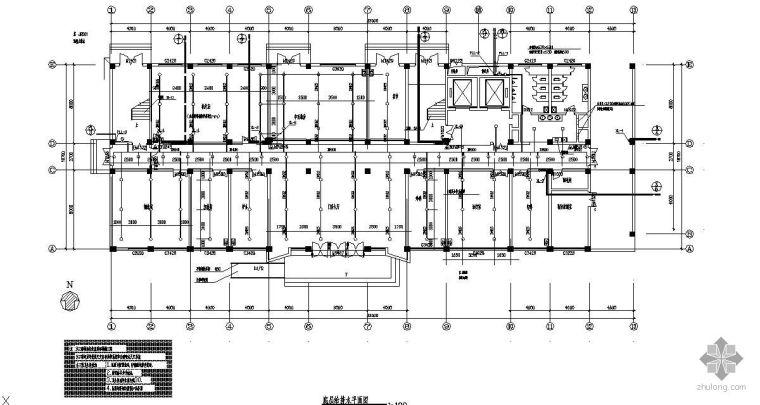 新建医院全套给排水(含消防)设计图