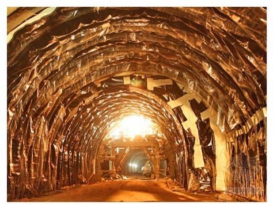 隧道结构防排水工程专项施工方案(排水盲管 防水板 止水带)