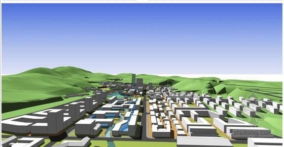 [江西]新城核心区概念规划及启动区控规报告76页