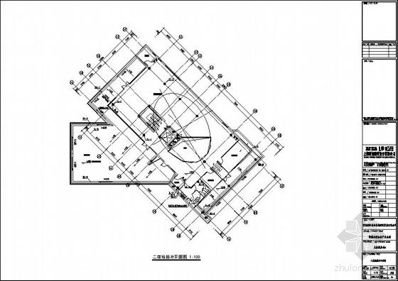 安徽某公司独栋办公楼给排水施工图