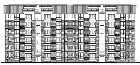 四川省三台慧川某小区住宅楼群建筑结构水电施工图-4