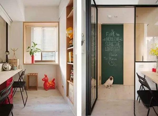 一平米竟能增十倍空间,60平米时尚婚房装修_5