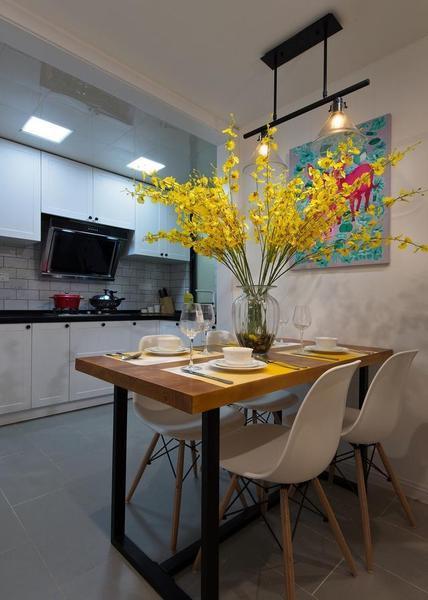 54平米小户型两室一厅现代简约风格老房翻新装修_6