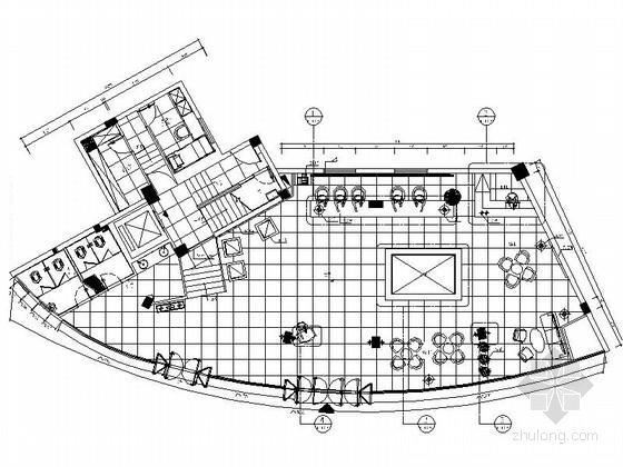 [福建]现代企业集团地产办公室设计施工图(含效果)