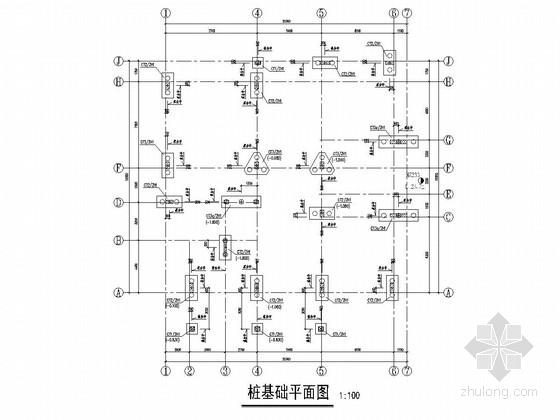 [广东]两层框架结构别墅结构施工图