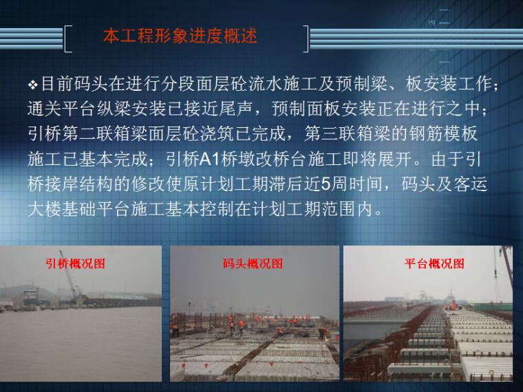 [上海]码头及其公共配套设施项目监理汇报材料
