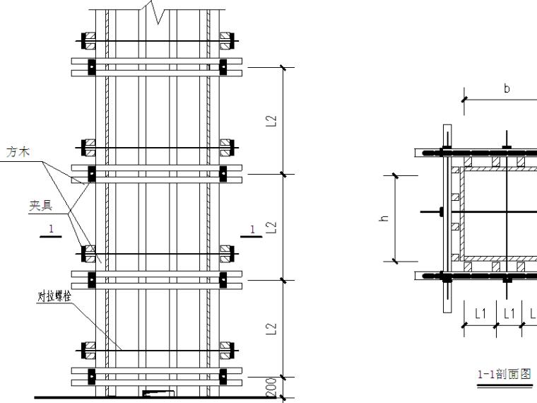 裙房顶梁板高大模板支撑体系搭设施工方案