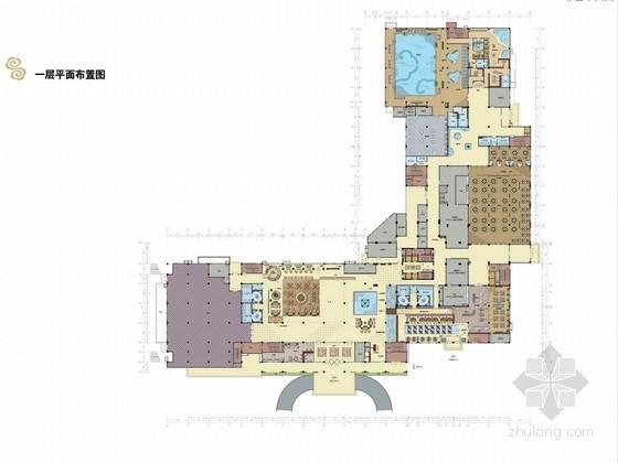 [陕西]国际五星级标准高端商务酒店设计方案图