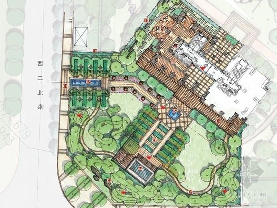 [杭州]高档住宅区样板区景观规划设计方案