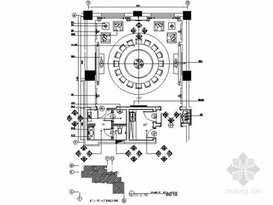 简欧风格酒店宴会厅室内装修图(含效果)